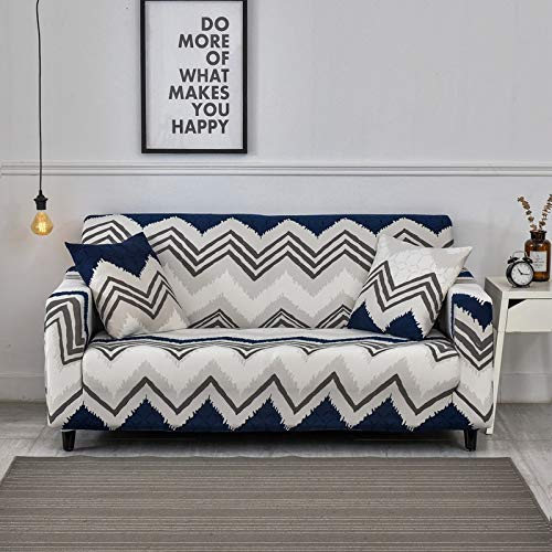 Fundas elásticas de sofá Sala de Estar Funda elástica elástica Fundas de sofá de Esquina seccionales A14 4 plazas