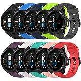QGHXO Band for Garmin Forerunner 945, Soft Silicone Replacement Watch Band Strap for Garmin Forerunner 945 / Forerunner 935 Smart Watch (No Tracker)