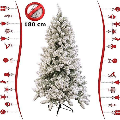 Viscio Trading Albero Natale Re delle Alpi A-, Acrilico, Verde