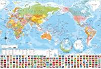 300ピース ジグソーパズル 世界地図 (26x38cm)