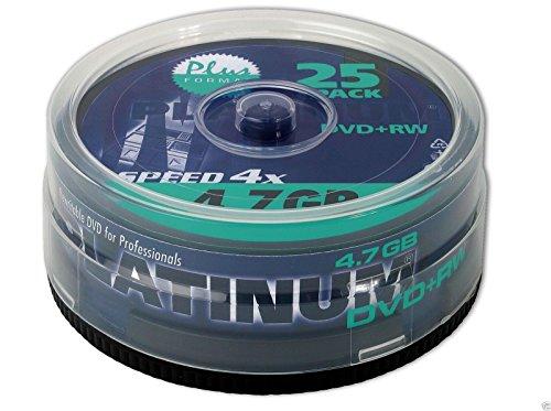 Platinum DVD+RW - 4.7 GB 4X - 1x25er Spindel (100603)