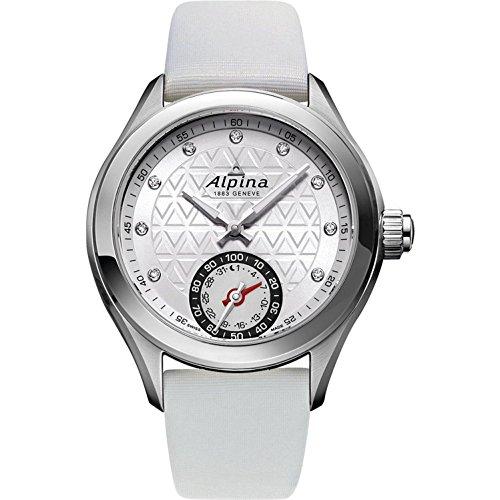 Alpina Horological Smart Watch Damen-Armbanduhr Diamant 39mm Weiß AL-285STD3C6