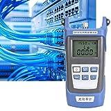 Probador de cable óptico, Probador óptico duradero, Resistente a golpes Fuerte Longitud de onda precisa 800-1700 Longitud de onda Hogar para la industria(Optical power meter)