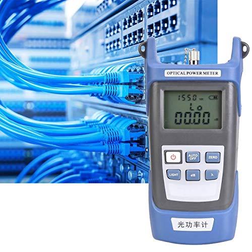 Probador de cable óptico de medidor de potencia de alta precisión para fibra óptica(Optical power meter)