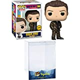 Roman Sionis (Chase): Funk o Pop! Heroes Vinyl Figure Bundle with 1 Compatible 'ToysDiva' Graphic Pr...