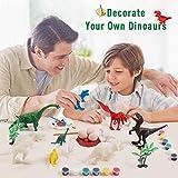 Zoom IMG-2 hiveseen dinosauro giocattolo diy pittura