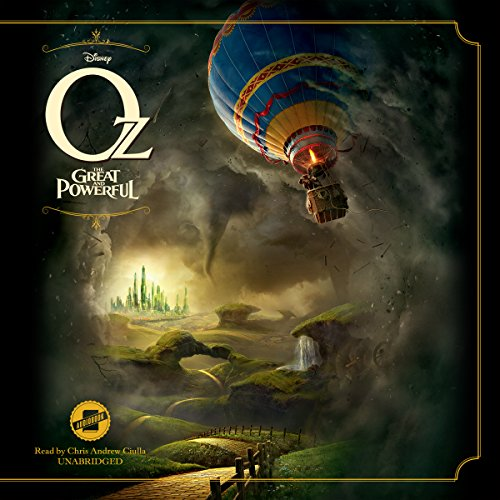 Oz the Great and Powerful audiobook cover art