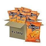 Doritos Tex-Mex 140g - Sabor a Queso - Pack de 9