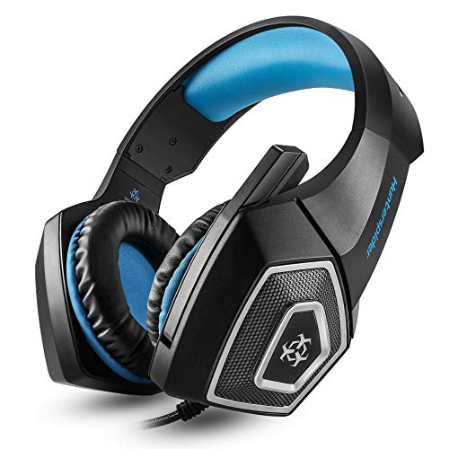 V1 headset RGB colorful wired headphones with McPs4 Xbox Black Blue Plus Wire