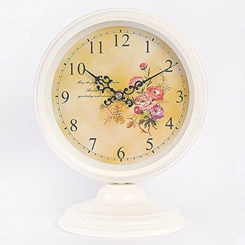 ZHUNSHI Continental idyllische Eisen Jugendstil Uhr Zeichnung Clock minimalistischen Mute Uhren...
