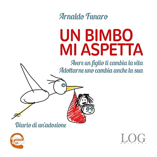 Un bimbo mi aspetta audiobook cover art