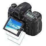 D750 Protector de Pantalla para Nikon D750 D780 [2+2 Unidades],ULBTER 0,3 mm Dureza 9H Vidrio Templado Antiarañazos Antihuellas Antiburbujas Antipolvo