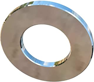 Allied Titanium 0075654, (Pack of 10) M3 Allied Titanium Flat Washer 0.5mm Thick X 6mm Outside Diameter, Grade 2 (CP)