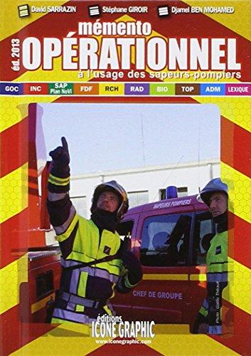 Memento Operationnel a l'Usage des Sapeurs-Pompiers - Format de Poche