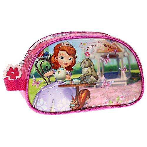 Disney Beauty Case Adattabile per Bambini, Principessa Sofia, Rosa