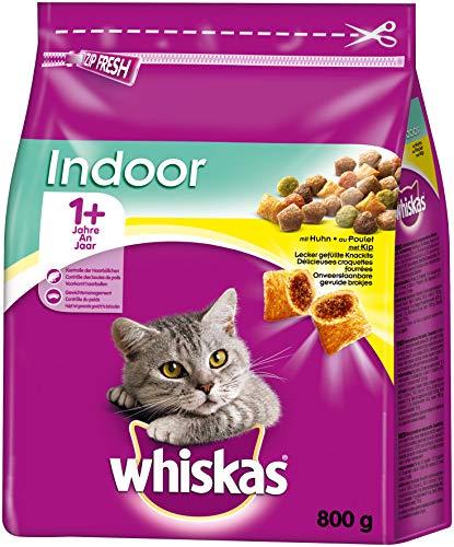 whiskas, Adult 1+ Indoor mit Huhn
