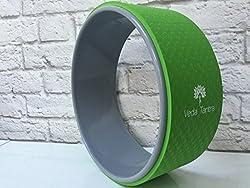 Veda Tantra Yoga Rad Premium Yoga Laufrad ideal für Stretching, Balance und Flexibilität Verbesserungen | 33cm