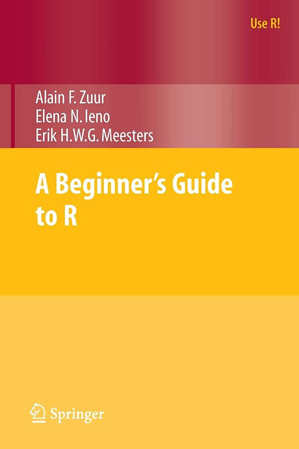 ラフト類似性発明A Beginner's Guide to R (Use R!)