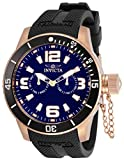 Invicta Specialty Men 48mm Stainless Steel Rose Gold Blue dial Quartz, 30701