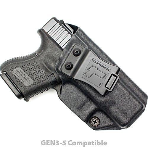 Tulster Glock 26/27/28/33 Holster IWB Profile Holster (Black - Right Hand)