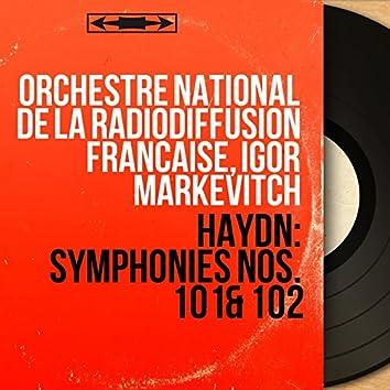 Haydn: Symphonies Nos. 101 & 102 (Mono Version)