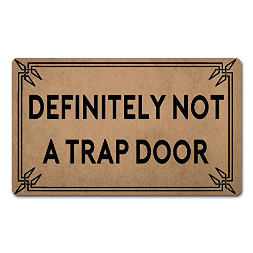 Z plus Welcome Mats 30'(L) x 18'(W) Personalized Funny Door Mats for Entrance Way/Kitchen Rugs and...