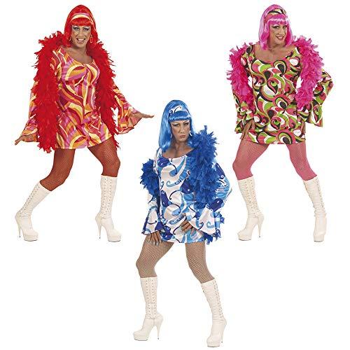 Widmann 5790S - Drag Queen Kostüm 70er Jahre Disco für Herren