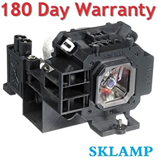 Sklamp NP07LP / 60002447 Replacement Lamp Bulb with Housing for NEC NP400, NP500, NP500W, NP600 Projectors
