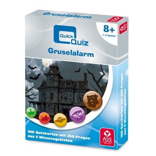 ASS Altenburger 22509666 - Quick Quiz, Gruselalarm