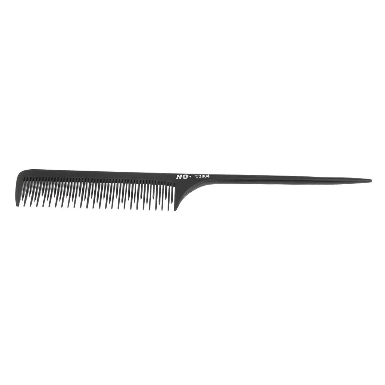 アスレチック敬な許可するHomyl サロン 理髪師 ヘアスタイリング 櫛 テールコーム ヘアコーム ヘアブラシ プロ 2タイプ選べ - t3004