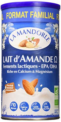 La Mandorle Lait D'amande Omega Bio Familial 800 G