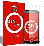 ZenGlass Nandu I Protector de Vidrio Flexible Compatible con HomTom Zoji Z9 I Protector de Pantalla 9H