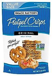 Snack Factory Pretzel Crisps, Original, 14 Ounce