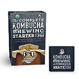 The Compete Kombucha Brewing Starter Kit | Fermentaholics USDA Certified Organic Making Kit (The Deluxe Kombucha Brewing Kit)