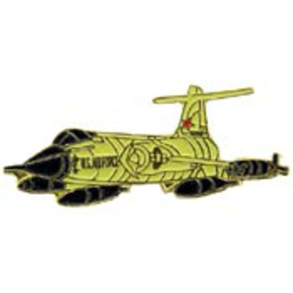 EagleEmblems P15917 Pin-Apl,F-104 Starfighter (1.5'')