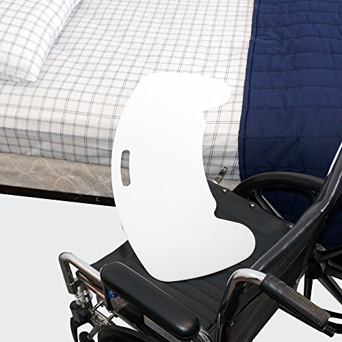 Curved Transfer Board Board for Bed, Wheelchair, Chair or Commode