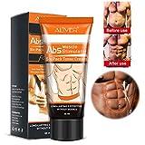 Crème abdominale Crème anti-cellulite Brûle les graisses - Crème amincissante naturelle pour le ventre, les bras, les cuisses et le raffermissement de la peau