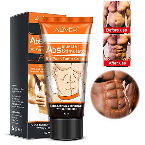 Hot Cream, Abs Extreme 4D Liposuction Body Slimming Cream, Anti Cellulite Abdomen Organic Natural Body Slimming Treatment for Shaping Waist, Abdomen Muscle(60ml)