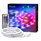 Govee Led Strip Lights, 65.6 Feet with Remote Control, RGB, for Bedroom, Ceiling, Kitchen