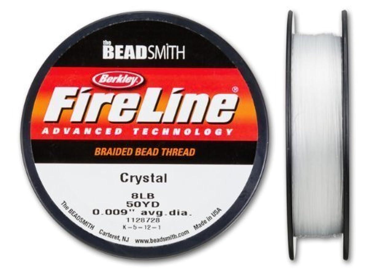 Beadsmith Fireline - Braided Bead Thread - Crystal - 50 Yards (8lb Test)