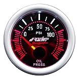 Simoni Racing OP/A Indicatore elettrico di Pressione Olio, sfondo Nero...