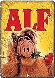 ALF Extraterrestial TV ShowBlechschilder Dekoration Retro