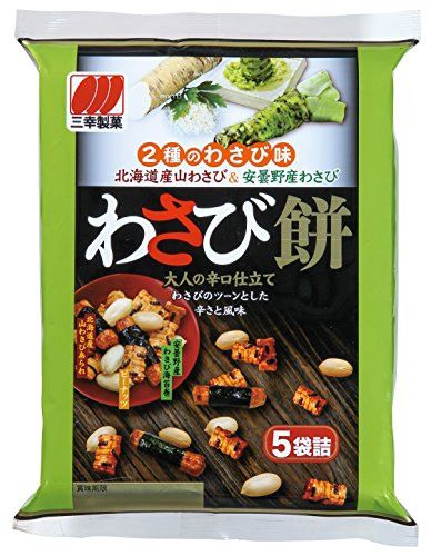 三幸製菓 わさび餅 84g×12袋
