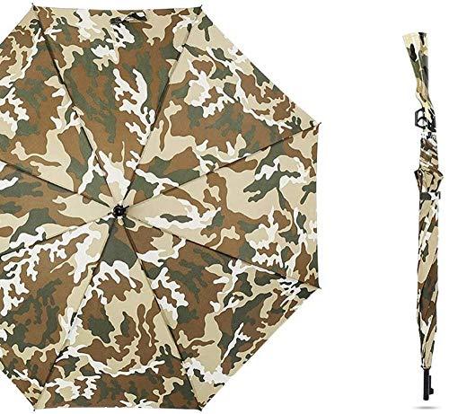 Golf Regenschirm Winddicht Groß 48 Zoll Luftig und Winddicht Gewehr Modell Regenschirm Automatische Öffnung Übergroß Übergroß Sonnenschutz Regenschutz Wetterfest Regenschirm (Farbe: A)-EIN Perf