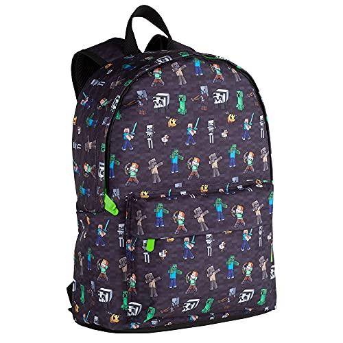 Toy Bags  Minecraft Negra Estampada Juguetes  Multicolor  Grande  T433 834