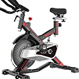 Nfudishpu Spinning Bike Mute Fitness Home App Juego De Conexión Inteligente Ultra Pérdida De Peso Interior del Pie Coche Hombres Y Mujeres Teniendo Fuerte
