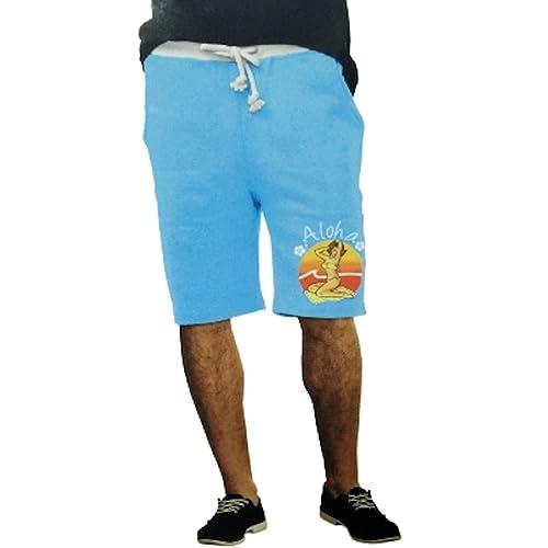 28d150c66f Top Drawer Aloha Blue Sleep Lounge Jam Shorts