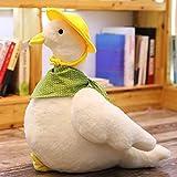 N / A Peluches y Patos de Peluche Juguetes de Peluche Juguetes para bebés y muñecos de Juguete Regalos navideños muñecos de Pato decoración del hogar sin Pilas 30cm