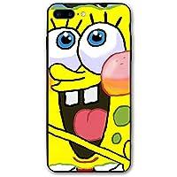 カスタムiPhone8Plusケース/ iPhone7Plusケースカラー3Dスポンジボブスクエアパンツプリントケース女の子用女性男性用