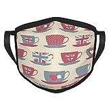 Nuevo diseño taza de té set adulto cara pasamontañas bandana boca cubierta protectora máscara para mujeres y hombres